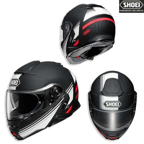 SHOEI ヘルメット NEOTECⅡ SEPARATOR 【セパレーター】ブラック/ホワイト フルフェイスヘルメット