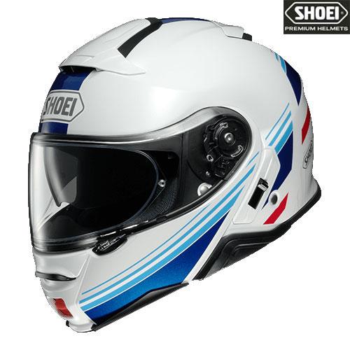 SHOEI ヘルメット 【2020年11月発売予定】NEOTECⅡ SEPARATOR 【ネオテック2 セパレーター】ホワイト/ブルー フルフェイスヘルメット