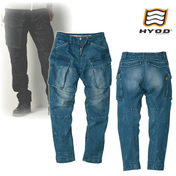 """HYOD PRODUCTS HYD535D HYOD D3O 3D CARGO PANTS""""WARM LAYERD"""" INDIGO(grey-dye)◆全3色◆"""