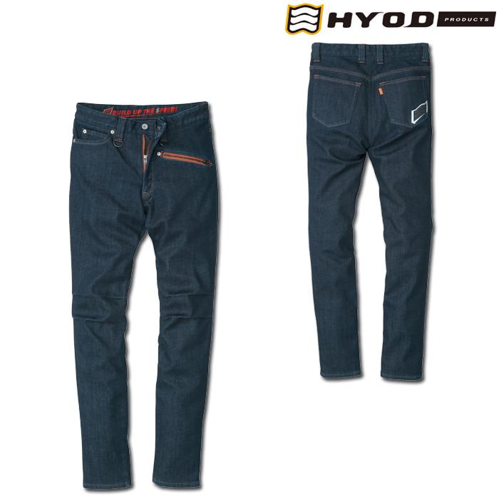 """HYOD PRODUCTS HYD538D HYOD D3O TAPERED RIDE DENIM""""WARM LAYERD"""" INDIGO(one-wash)◆全3色◆"""