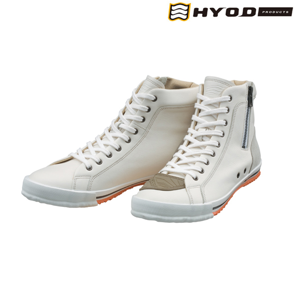 HYOD PRODUCTS HYF002 HYOD HIGH-CUT RIDE SNEAKERS WHITE◆全4色◆
