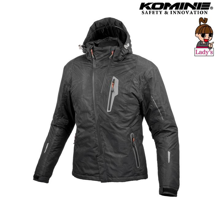 komine (レディース)JK-589 プロテクトウインターパーカ ジャケット ブラックマーブル ◆全6色◆
