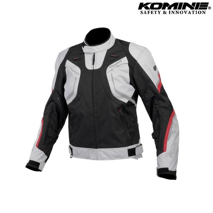 komine JK-606 R-Specシステムジャケット ライトグレー/ブラック ◆全4色◆