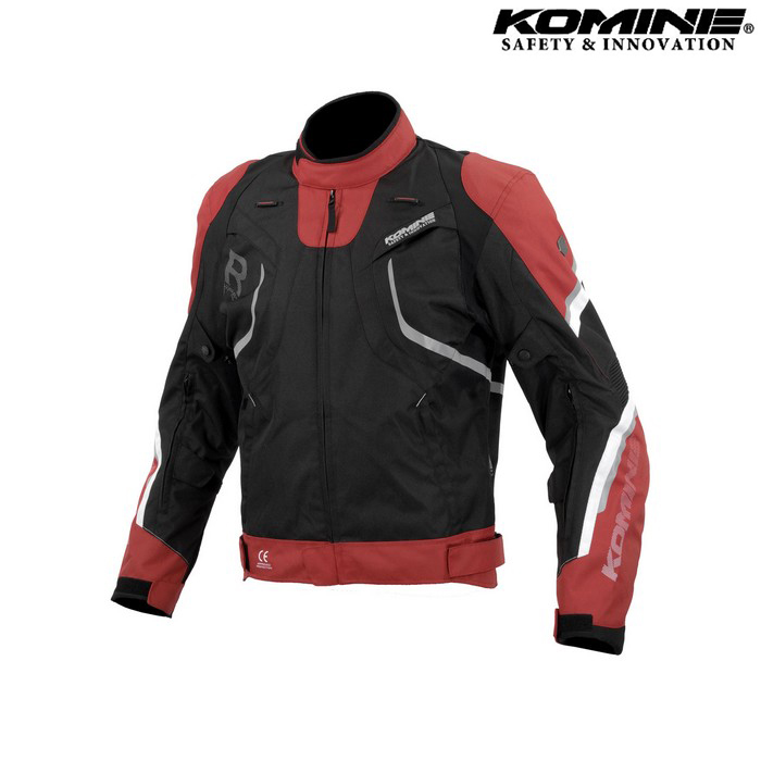 komine JK-606 R-Specシステムジャケット レッド/ブラック ◆全4色◆