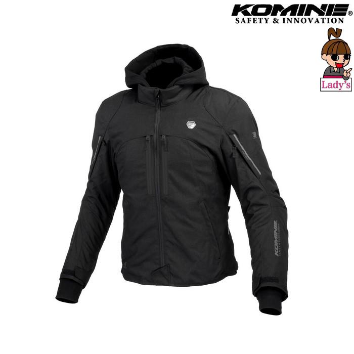 komine レディース JK-608 ハイプロテクトウインターパーカ ブラック ◆全3色◆