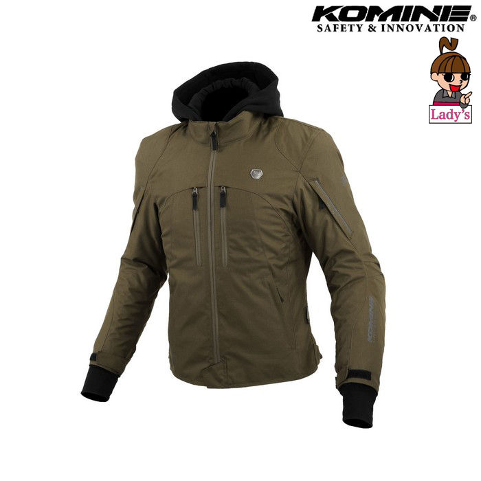 komine レディース JK-608 ハイプロテクトウインターパーカ オリーブ ◆全3色◆