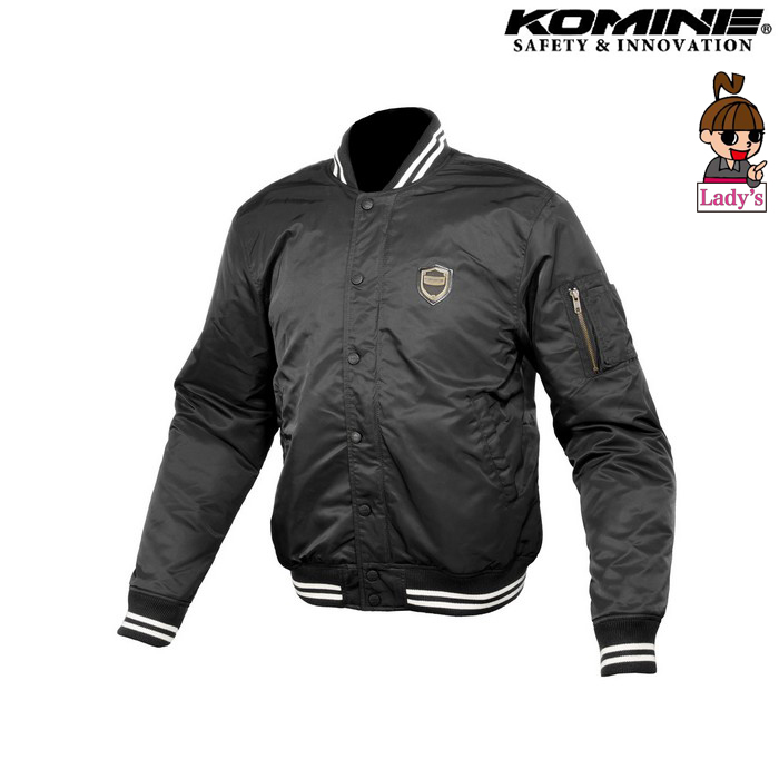 komine (レディース)JK-610 プロテクトボンバージャケット ブラック ◆全2色◆