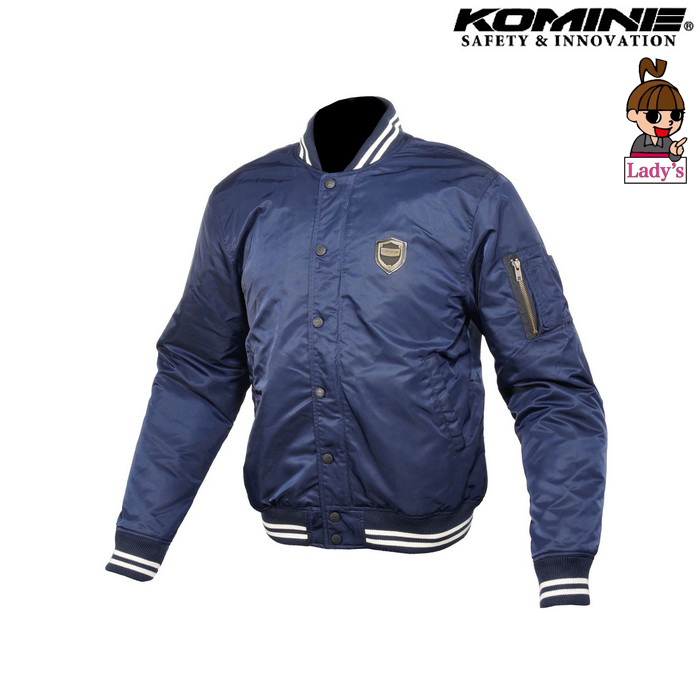 komine (レディース)JK-610 プロテクトボンバージャケット ネイビー ◆全2色◆