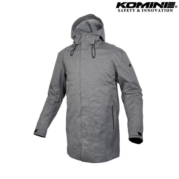 komine JK-611 ウォータープルーフプロテクトロングウインターコート グレー ◆全2色◆