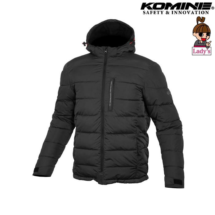 komine レディース JK-612 プロテクトウインターパッディングジャケット ブラック ◆全2色◆