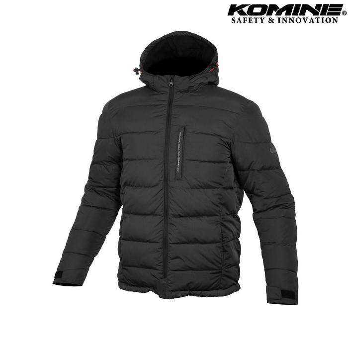 komine 大きいサイズ JK-612 プロテクトウインターパッディングジャケット ブラック ◆全3色◆