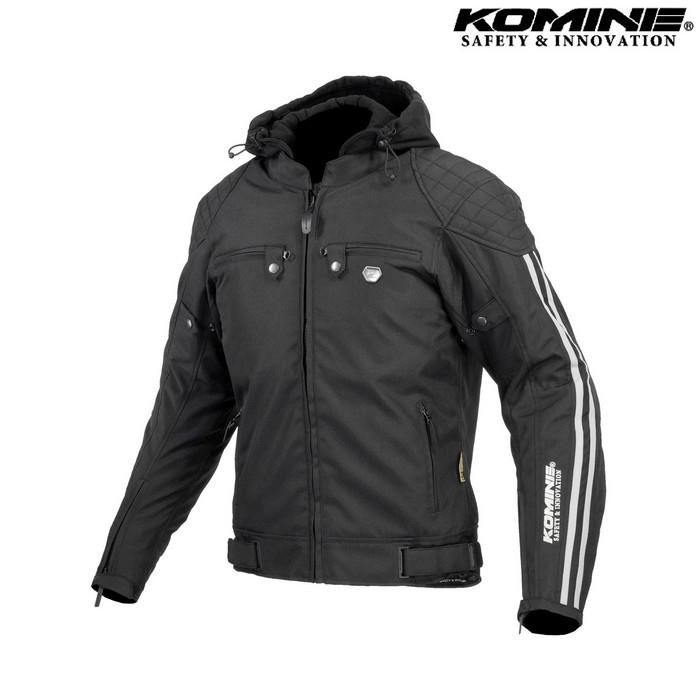 komine 大きいサイズ JK-614 プロテクトウインターパーカ ブラック ◆全3色◆