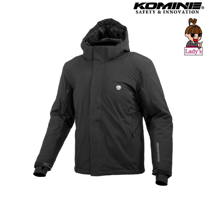 komine (レディース)JK-616 プロテクトウォータープルーフストレッチャブルウインターパーカ ブラック ◆全3色◆