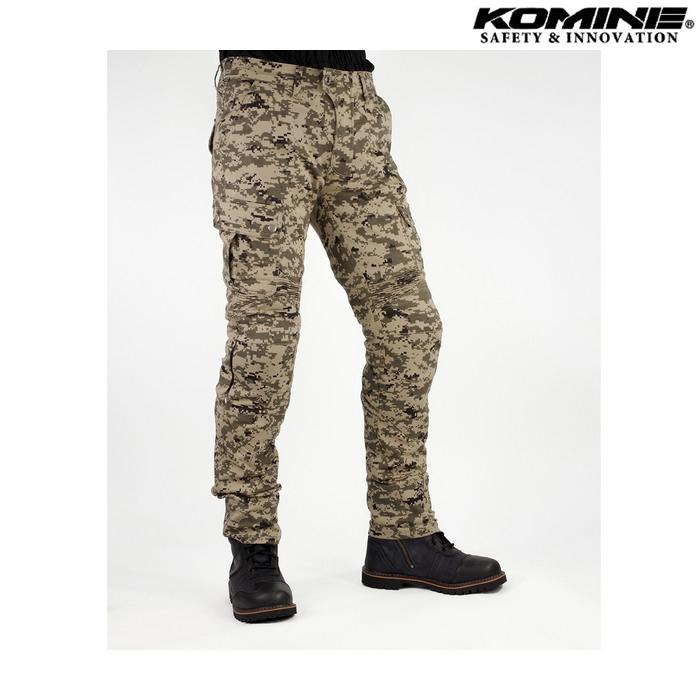 komine PK-744 プロテクトライディングコットンカーゴパンツ デジタルカモ ◆全5色◆