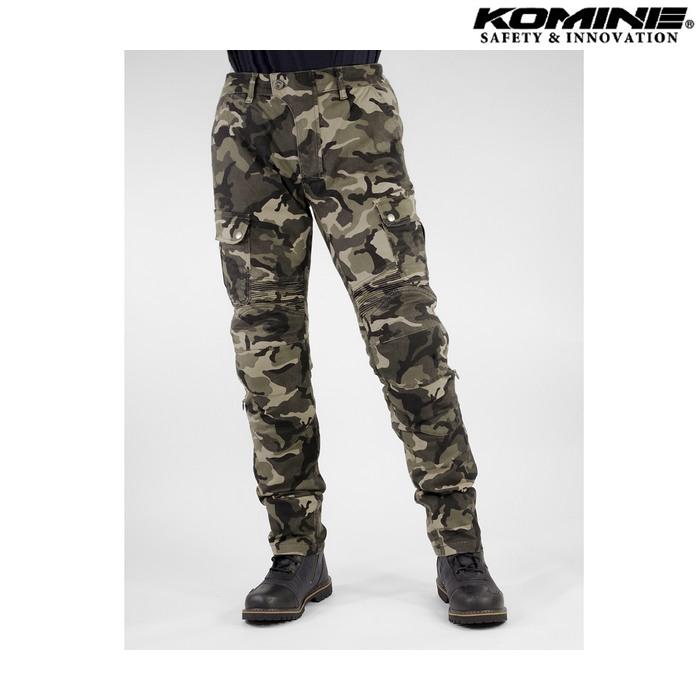 komine PK-744 プロテクトライディングコットンカーゴパンツ カモ ◆全5色◆