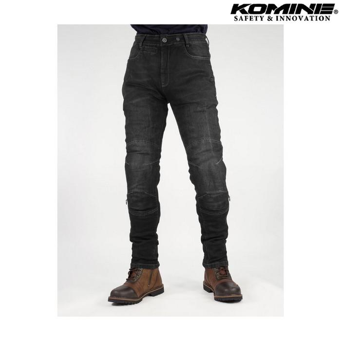komine WJ-749R プロテクトジーンズ ブラック ◆全2色◆