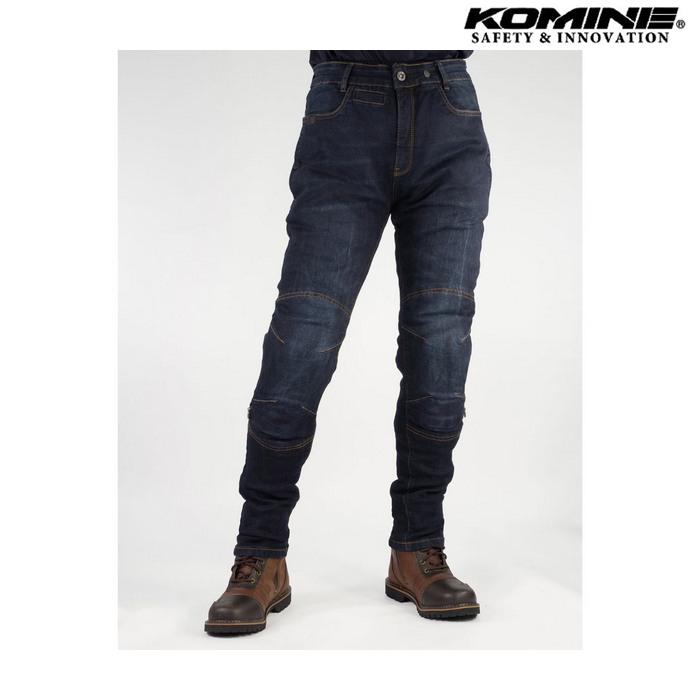 komine WJ-749R プロテクトジーンズ デジタルインディゴ ◆全2色◆