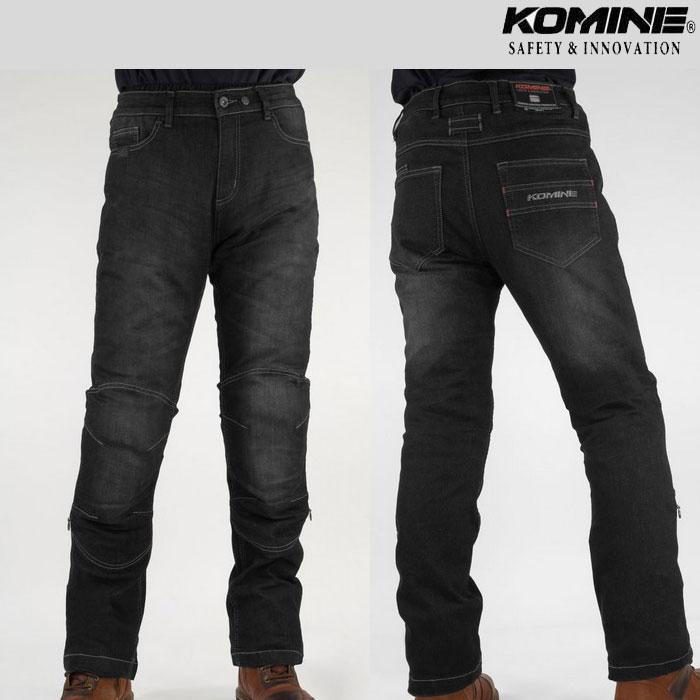 komine 大きいサイズ WJ-925R ウォームシステムジーンズ Black◆全2色◆