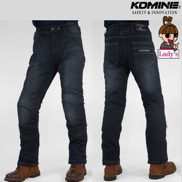 komine (レディース)WJ-925R ウォームシステムジーンズ Deep Indigo◆全2色◆