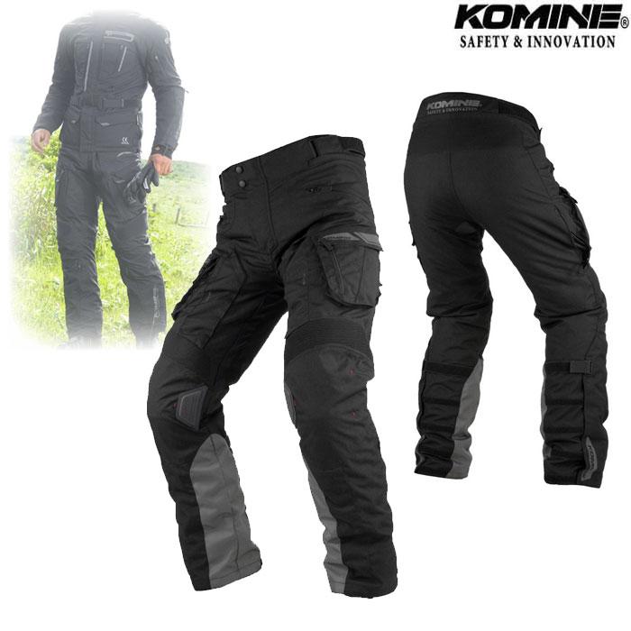 komine PK-928 FY Adventure Pants Black◆全2色◆