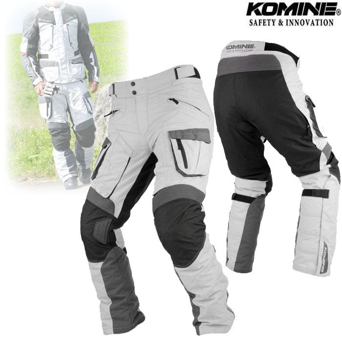 komine PK-928 FY Adventure Pants Light Grey/Black◆全2色◆