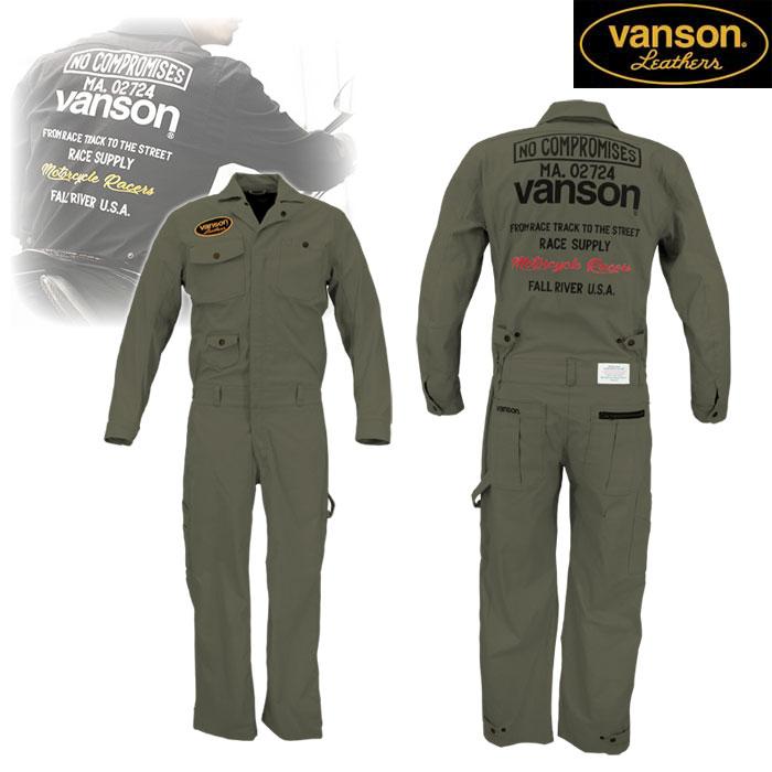 VANSON VS20301 コットンカバーオール GRAY◆全3色◆