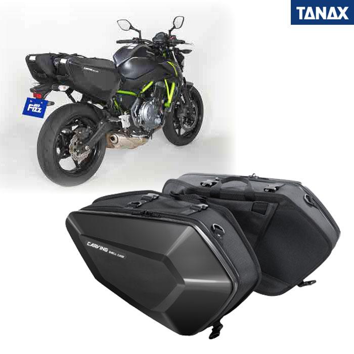 TANAX TANAX MFK-271 カービングシェルケース ブラック