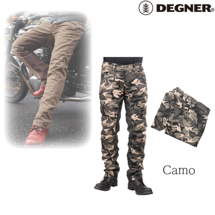 DEGNER DP-32 メンズコットンパンツ/ MEN'S COTTON PANTS カモ◆全5色◆