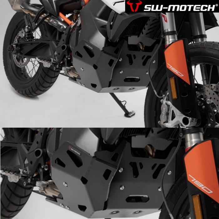 SW-MOTECH エンジンガード ブラック【KTM 790 ADVENTURE/R 2018~2020】
