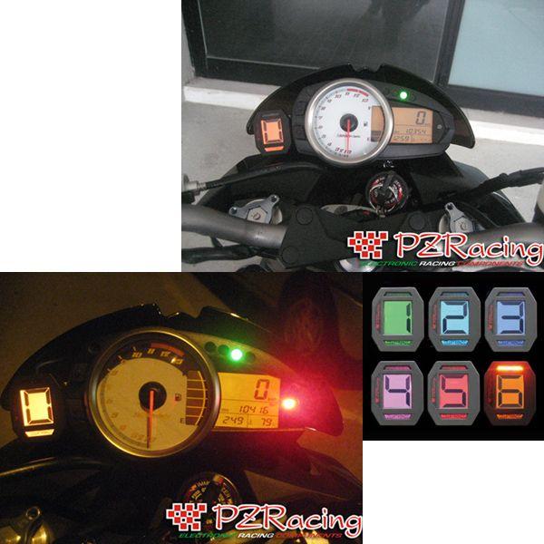 PZRacing 【アウトレット】個別配送のみ GEARTRONIC2 ギアインジケーター&シフトライト