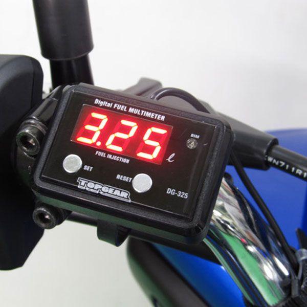 Protec 【アウトレット】個別配送のみ デジタルフューエルマルチメーター DG-K01