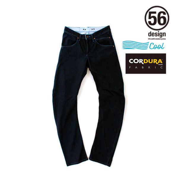 56design 【アウトレット】個別配送のみ 056 RIDER JEANS COOL MESH ONE WASH