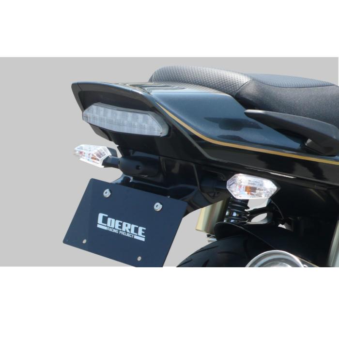 DAXCorporation 【アウトレット】個別配送のみ フェンダーレスKIT FRP 黒ゲル ZRX1200 DAEG