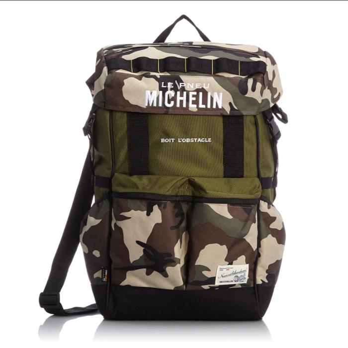 Michelin 【アウトレット】個別配送のみ グラン4ウェイバッグ ブラウンカモ