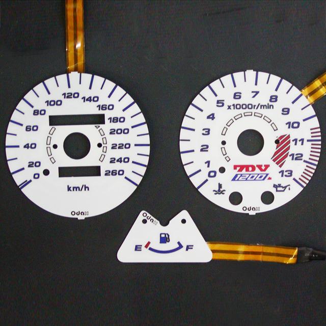 odax 【アウトレット】個別配送のみ ELメーターパネル 260km用 03-08 ZRX1200