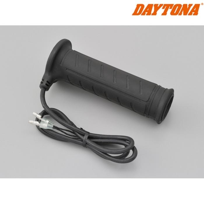 DAYTONA 77318  ホットグリップ ヘビーデューティー用グリップ 貫通 右側 ブラック