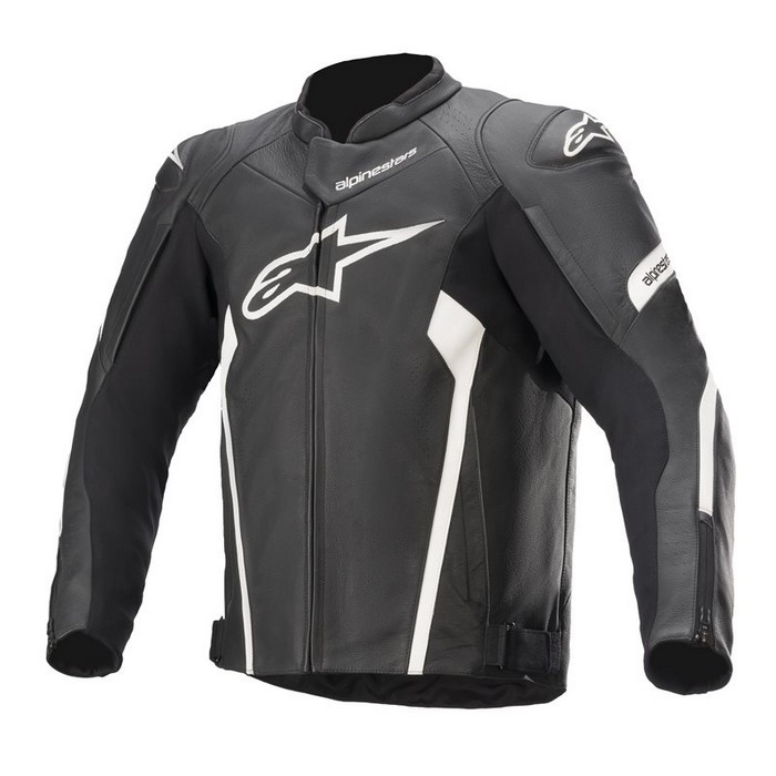 alpinestars 3103521 FASTER v2 LEATHER JACKET BLACK WHITE(12) ◆全3色◆