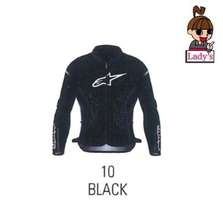 (レディース)3112021 STELLA KIRA 12 LEATHER JACKET BLACK WHITE (12)◆全3色◆