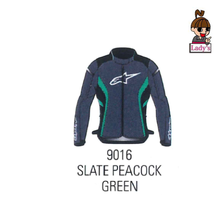 alpinestars (レディース)3212021 STELLA T-KIRA v2 WATERPROOF JACKET SLATE PEACOCK GREEN(9016)◆全3色◆