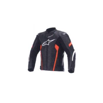 alpinestars 3103621 FASTER AIRFLOW V2 LEATHER JACKET BLACK WHITE RED FLUO(1030) ◆全3色◆
