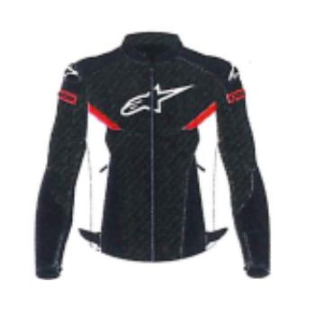 alpinestars 3304220 AXIOM AIR JACKET BLACK WHITE BRIGHT RED(1304) ◆全2色◆