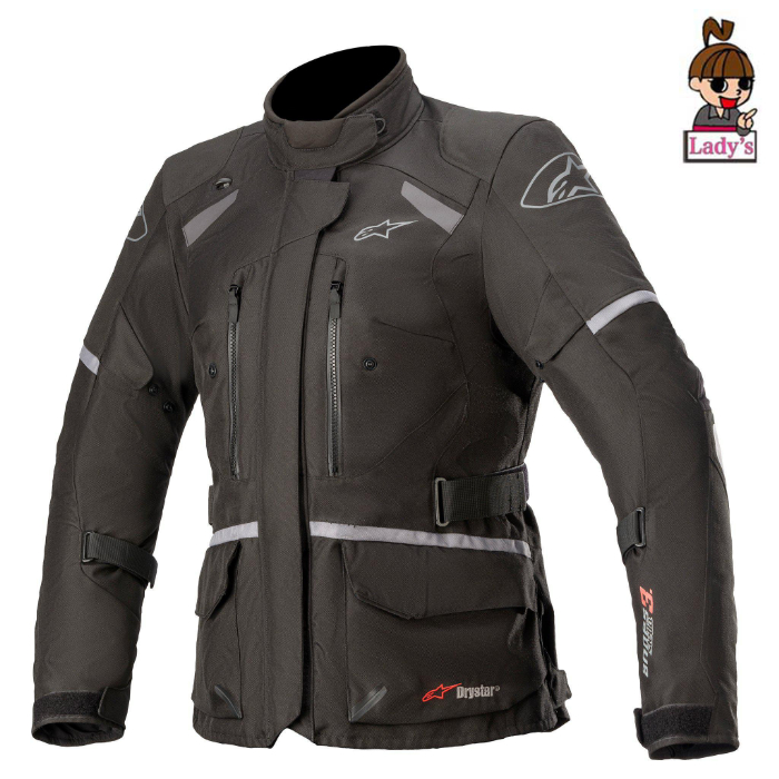 alpinestars (レディース)3217521 STELLA ANDES V3 DRYSTAR JACKET BLACK DARK GRAY (111)◆全2色◆
