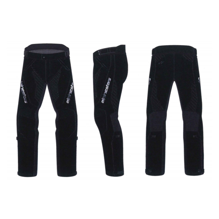 alpinestars 3324821 STRIKER AIR V PANTS BLACK BLACK(10)