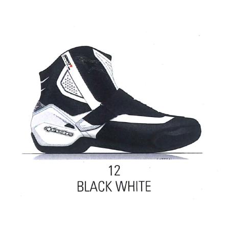 alpinestars 2224021 SMX-1 R v2  VENTED BOOTS BLACK WHITE (12)◆全3色◆