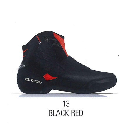 2224021 SMX-1 R v2  VENTED BOOTS BLACK RED (13)◆全3色◆