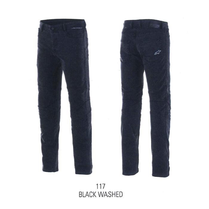 alpinestars 3329621 AS-DSL DAIJI RIDING DENIM BLACK WASHED(117)◆全2色◆