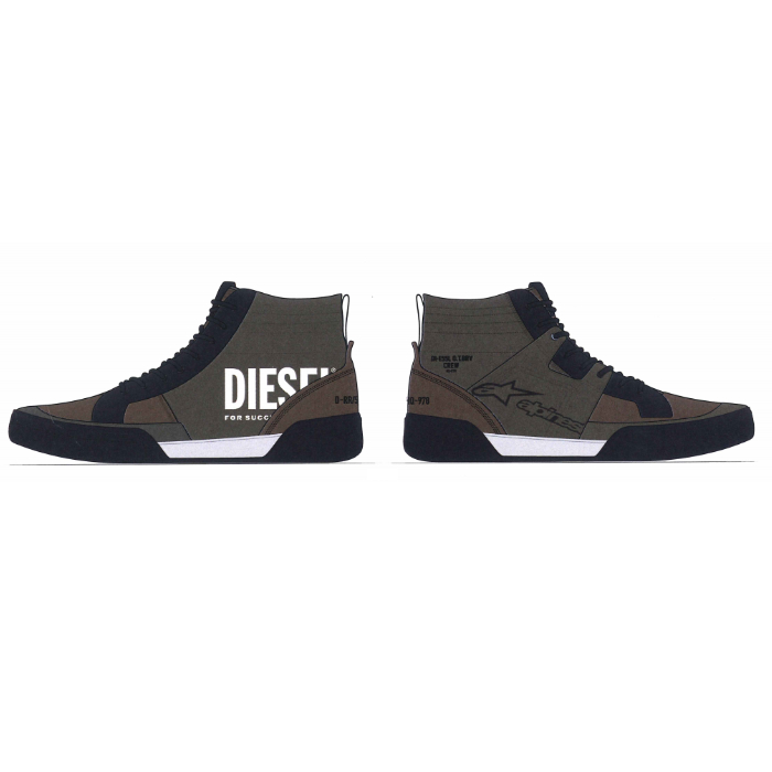 alpinestars 2857421 AS-DSL AKIO RIDING SHOE MILITARY GREEN FOREST(616) ◆全2色◆