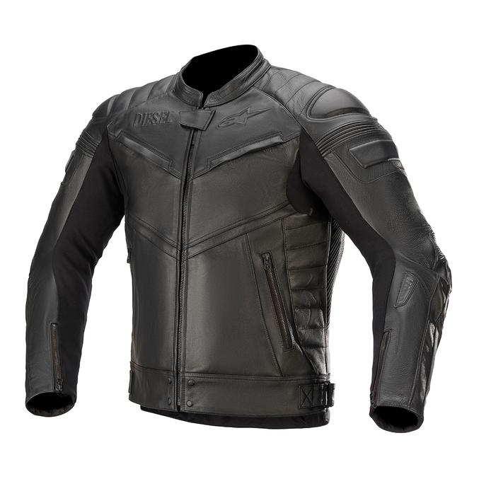 alpinestars 3109320  AS-DSL SHIRO LEATHER JACKET TECH-AIR COMPATIBLE