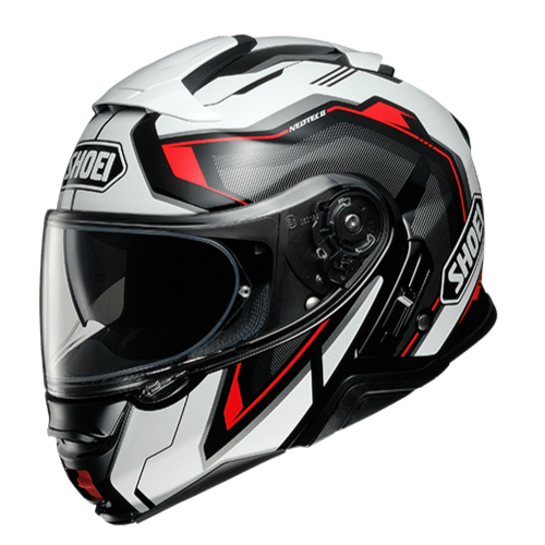 SHOEI ヘルメット NEOTECⅡ RESPECT (リスペクト) RED/BLACK(TC-1)