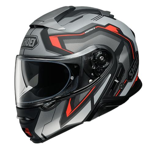 SHOEI ヘルメット NEOTECⅡ RESPECT (リスペクト) BLACK/SILVER マットカラー(TC-5)